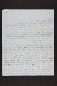 Letter from Julia Hyde to M. H. Goodale