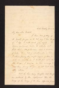 Letter from Julia Hyde to Millicent W. Goodale, 1840 October 15