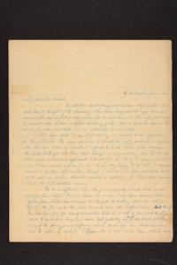 Letter from Julia Hyde to Millicent W. Goodale, 1841 June 01