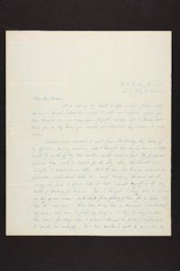 Letter from Julia Hyde to Millicent W. Goodale, 1841 November 08