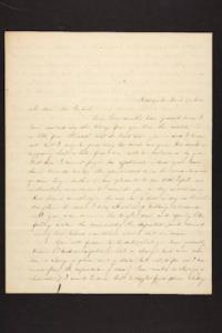 Letter from Julia Hyde to Millicent W. Goodale, 1844 March 29
