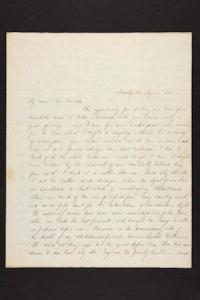 Letter from Julia Hyde to Millicent W. Goodale, 1844 September 19