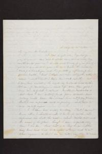 Letter from Julia Hyde to Millicent W. Goodale, 1845 October 31