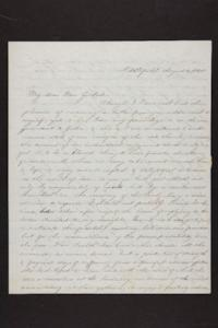 Letter from Julia Hyde and Abby B. Hyde to Millicent W. Goodale