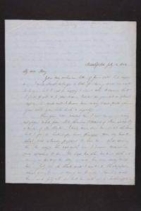 Letter from Julia Hyde to Mary H. Goodale