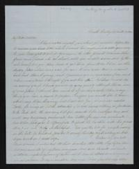 Letter from Margaretta Huntting to Laura D. Howell, 1846 December 03