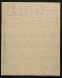 Letter from Elizabeth Hawks to Nancy Everett, 1839 January 30