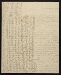 Letter from Elizabeth Hawks to Nancy Everett, 1839 March 20