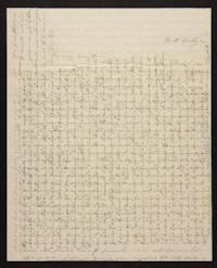 Letter from Elizabeth Hawks to Nancy Everett, 1839 December 06
