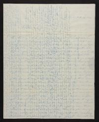 Letter from Elizabeth Hawks to Nancy Everett, 1840 February 26
