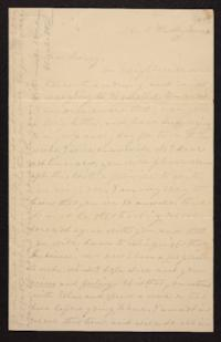 Letter from Elizabeth Hawks to Nancy Everett, circa 1840 June 04