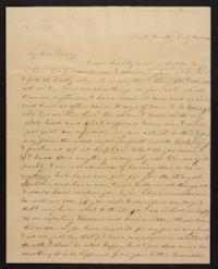 Letter from Elizabeth Hawks to Nancy Everett, 1840 July 15