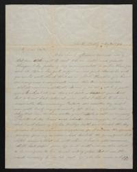 Letter from Marion Harwood to Sarah Harwood, 1847 May 20