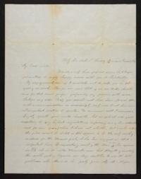 Letter from Marion Harwood to Sarah Harwood, 1847 June 17