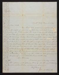 Letter from Marion Harwood to Sarah Harwood, 1847 June 22