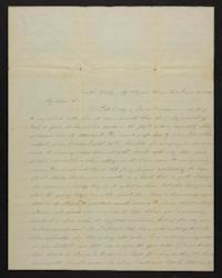 Letter from Marion Harwood to Sarah Harwood, 1847 June 30