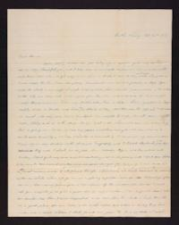 Letter from Mary Graves to Edwin Graves, 1841 October 16