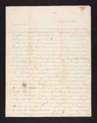 Letter from Mary E. Graves to Polly Graves