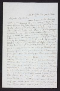 Letter from Mary E. Graves to Fidelia Fiske