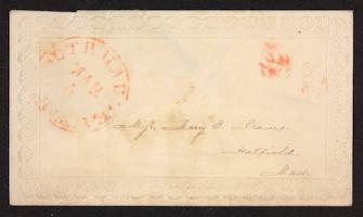 Letter from Mary E. Graves to unidentified recipient