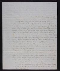 Letter from Lucinda Thayer Guilford to Francese Greene