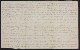 Letter from Lucinda Thayer Guilford to Francese Greene, circa 1845 November 04