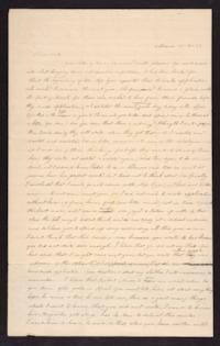 Letter from Caroline LeConte Morris to Mary LeConte,1839 March 16