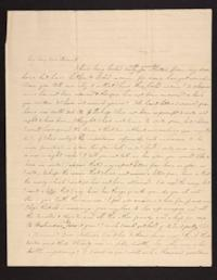 Letter from Caroline LeConte Morris to Mrs. Gershua LeConte,1840 May 30