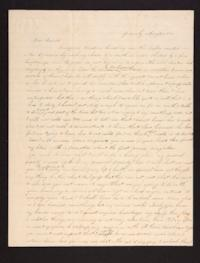 Letter from Caroline LeConte Morris to Mrs. Gershua LeConte, 1840 August 25