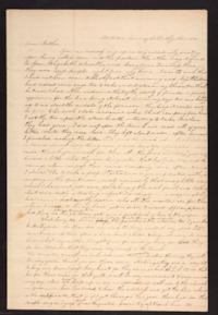 Letter from Caroline LeConte Morris to Mrs. Gershua LeConte, 1840 November 05