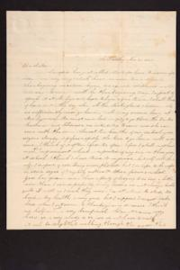 Letter from Caroline LeConte Morris to Mary LeConte, 1840 November 25