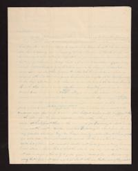 Letter from Caroline LeConte Morris to Mary LeConte, 1841 May 22