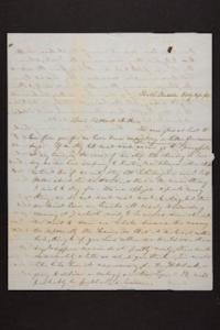 Letter from Mary Quincy Brown to Newman Brown, 1849 July 27