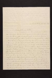 Letter from Mary Quincy Brown to Newman Brown, 1849 November 23