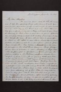 Letter from Newman Brown to Susan N. Brown