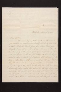 Letter from Susan N. Brown to Newman Brown, 1850 March 08