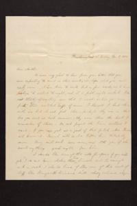 Letter from Mary Quincy Brown to Mrs. Newman Brown, 1850 November 11