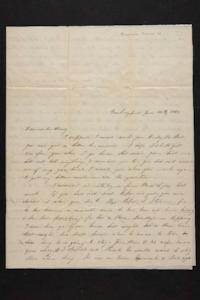 Letter from Mary Quincy Brown to Susan N. Brown, 1848 June 30