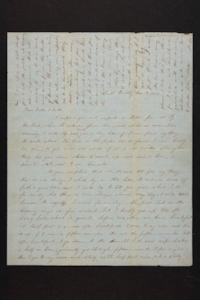 Letter from Mary Quincy Brown and Susan N. Brown to Mr. and Mrs. Newman Brown