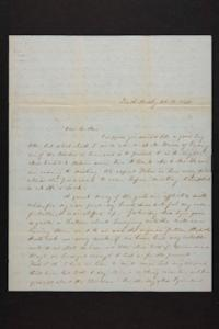 Letter from Mary Quincy Brown to Newman Brown, 1849 February 13