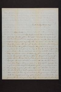 Letter from Mary Quincy Brown to Newman Brown, 1849 February 28
