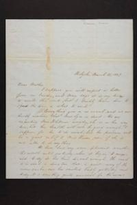 Letter from Susan N. Brown to Newman Brown, 1849 March 21