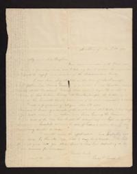 Letter from Lucy Goodale to Miss Brigham