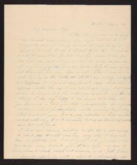 Letter from Maria Savage to Rhoda A. Roys, 1840 May 06
