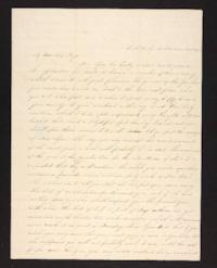 Letter from Maria Savage to Rhoda A. Roys, 1842 March 19