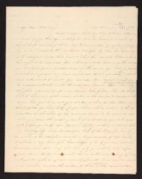Letter from Maria Savage to Rhoda A. Roys, circa 1842 April 28