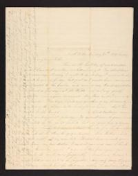 Letter from Martha Coan to Sarah M. Coan