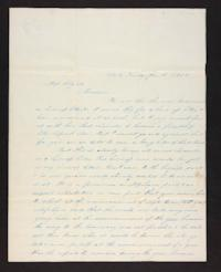 Letter from Martha Coan to Harriet Colgate, 1842 January 11