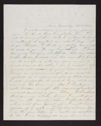 Letter from Martha Coan to unidentifed recipient