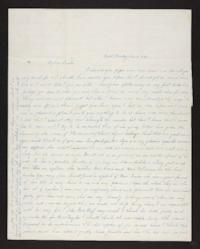 Letter from Lydia Pomeroy to Benjamin Pomeroy, Jr., 1842 December 14